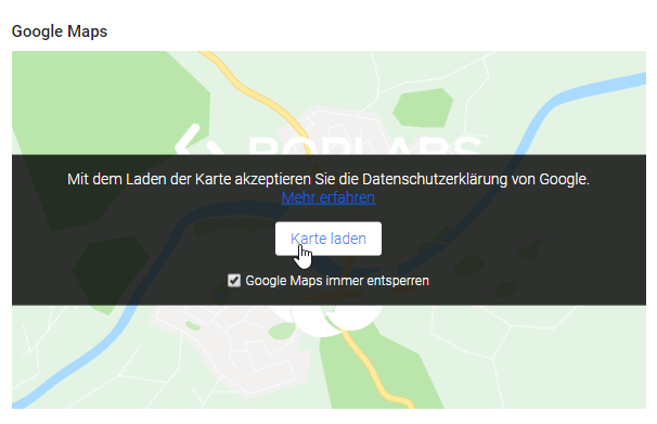 Dsgvo Konform Google Maps
