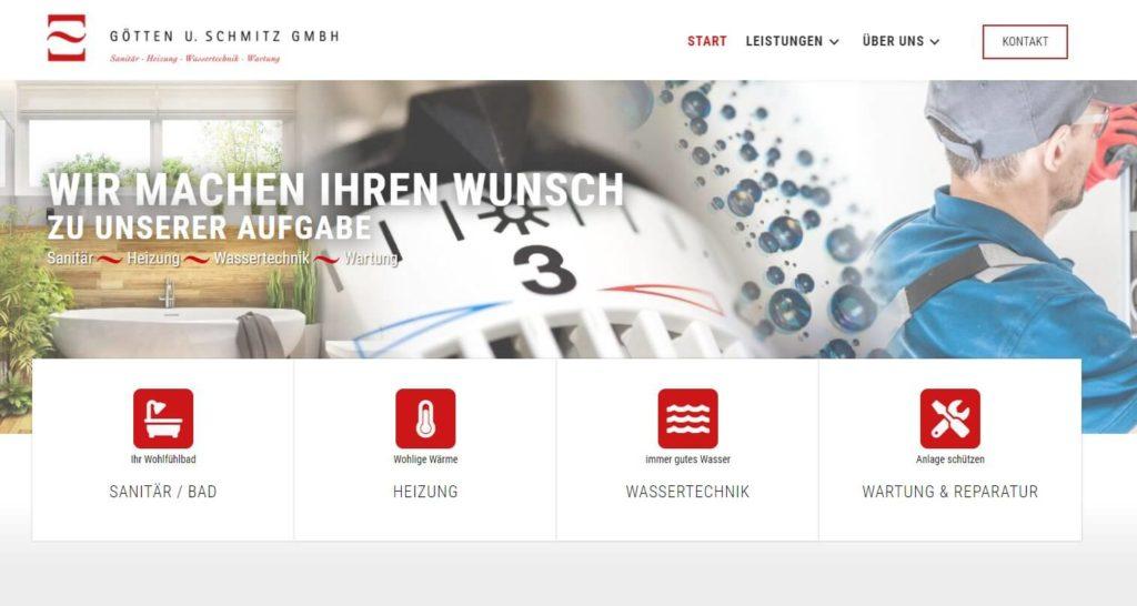 Webdesign Sanitaer Koblenz Gs