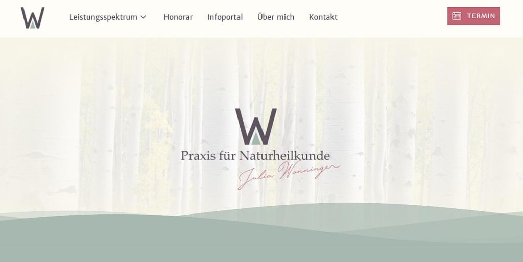 referenz webdesign heilpraktiker julia wanninger koblenz