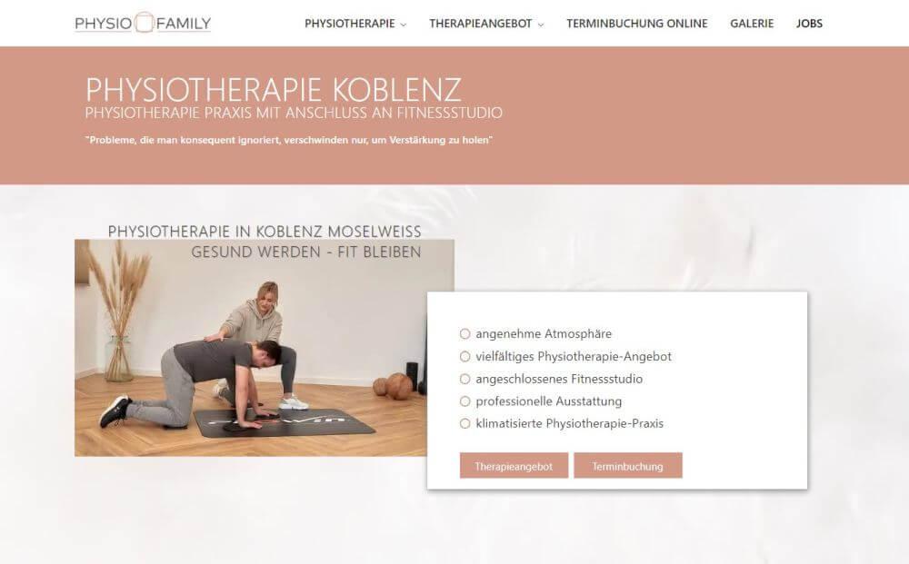 webdesign physiotherapie koblenz 3